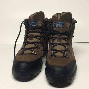 L L Bean waterproof hiking boots 9.5
